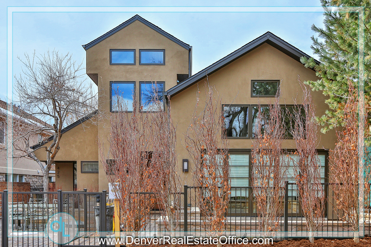 St. Paul Street Homes in Cherry Creek Neighborhood of Denver