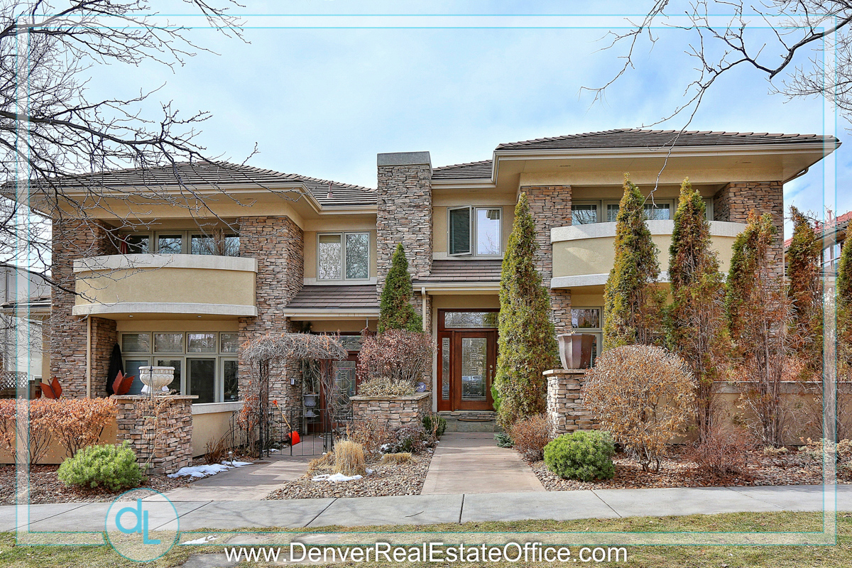 St Paul Street Homes In Cherry Creek Neighborhood Of